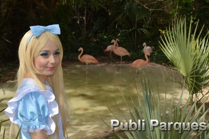 Alicia en Terra Natura Benidorm