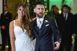Messi Marraige
