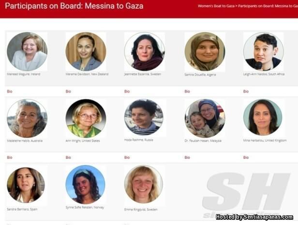 #WomensBoatToGaza