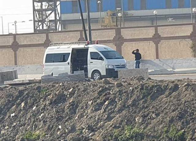 تفجير قنبلة هيكلية عن بعد داخل سيارة بجوار محطة كهرباء بنها