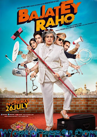 Poster Of Bajatey Raho (2013) All Full Music Video Songs Free Download Watch Online At worldfree4u.com