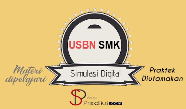 Latihan Soal dan Kunci Jawaban USBN Simulasi Digital SMK 2019