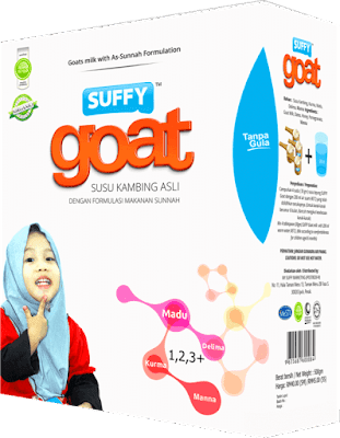 susu kambing suffy