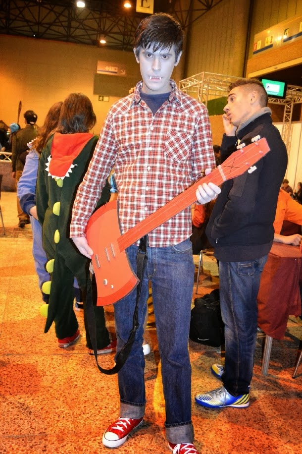Cosplay de Marshall Lee en Mangafest 2013