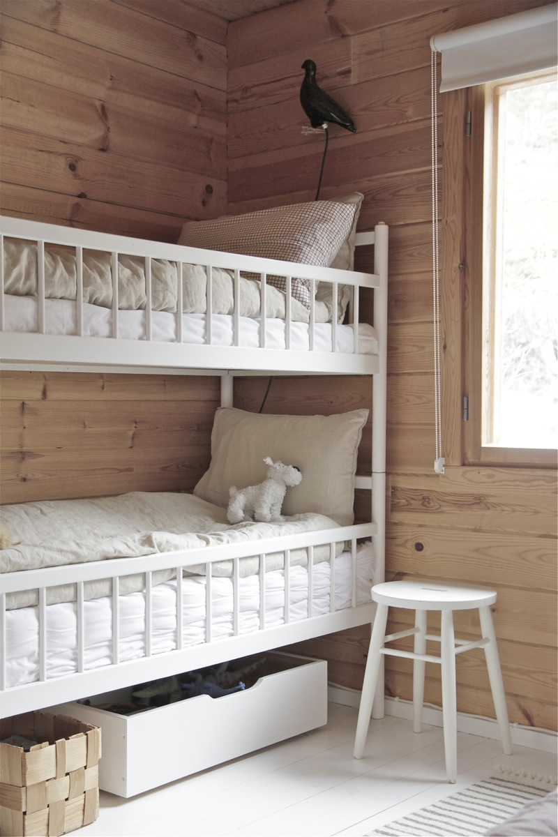 Are Cabin Beds The Solution For Small Bedrooms: My Scandinavian Home: A Finnish Log Cabin