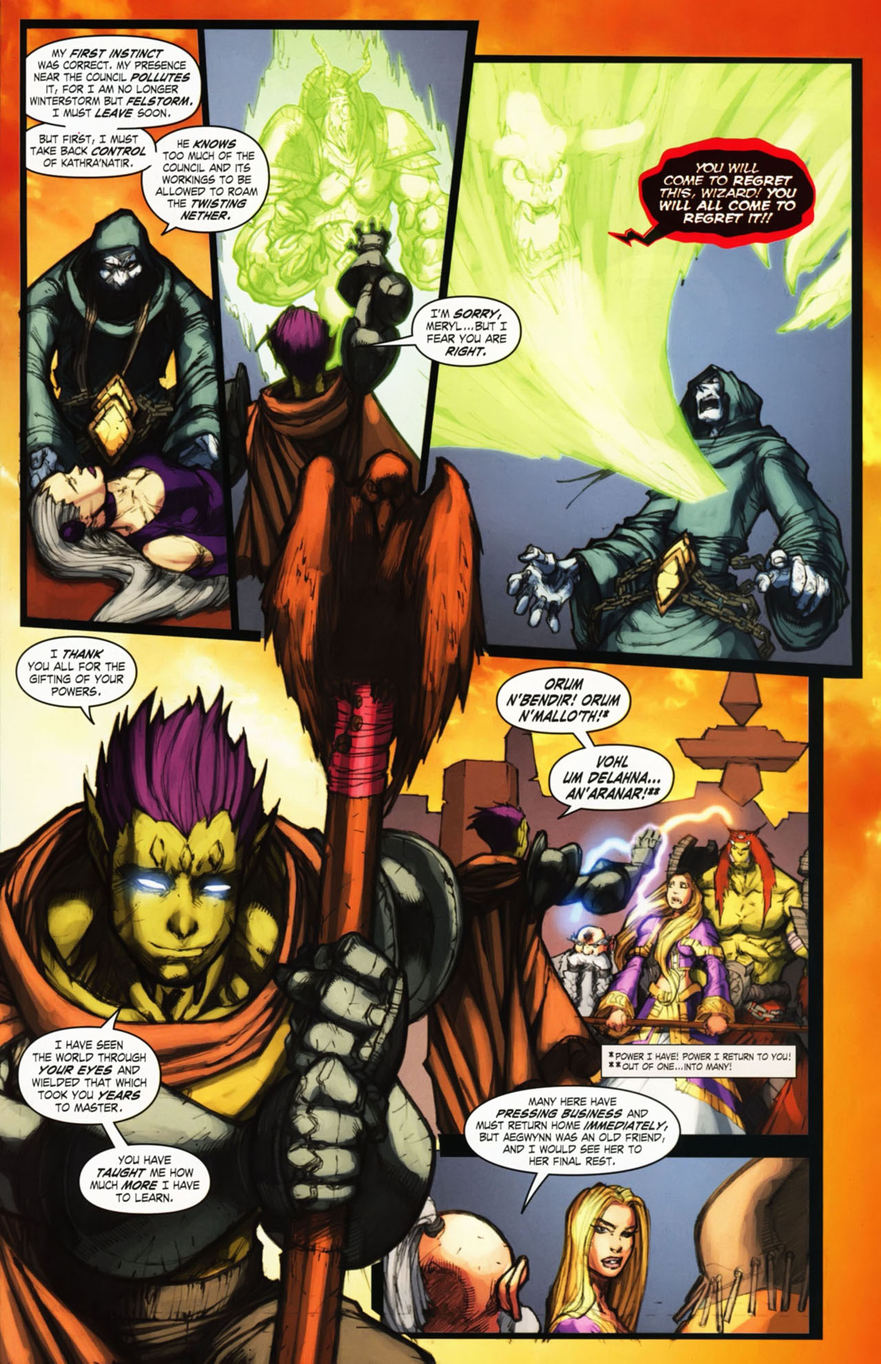 Read online World of Warcraft comic -  Issue #25 - 38