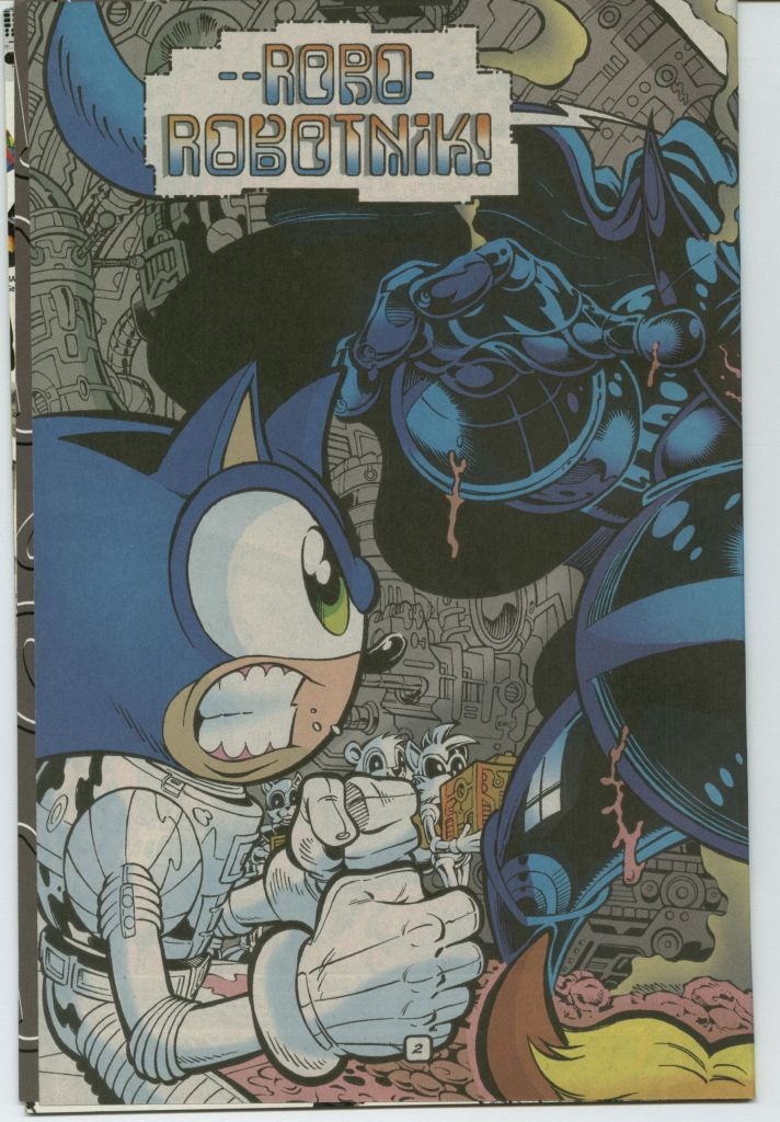 Read online Sonic The Hedgehog comic -  Issue #75 - 4