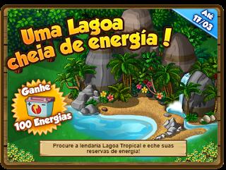 Missão: Uma Lagoa cheia de energia!