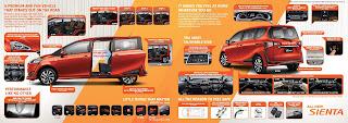 Brosur Toyota Sienta 2016