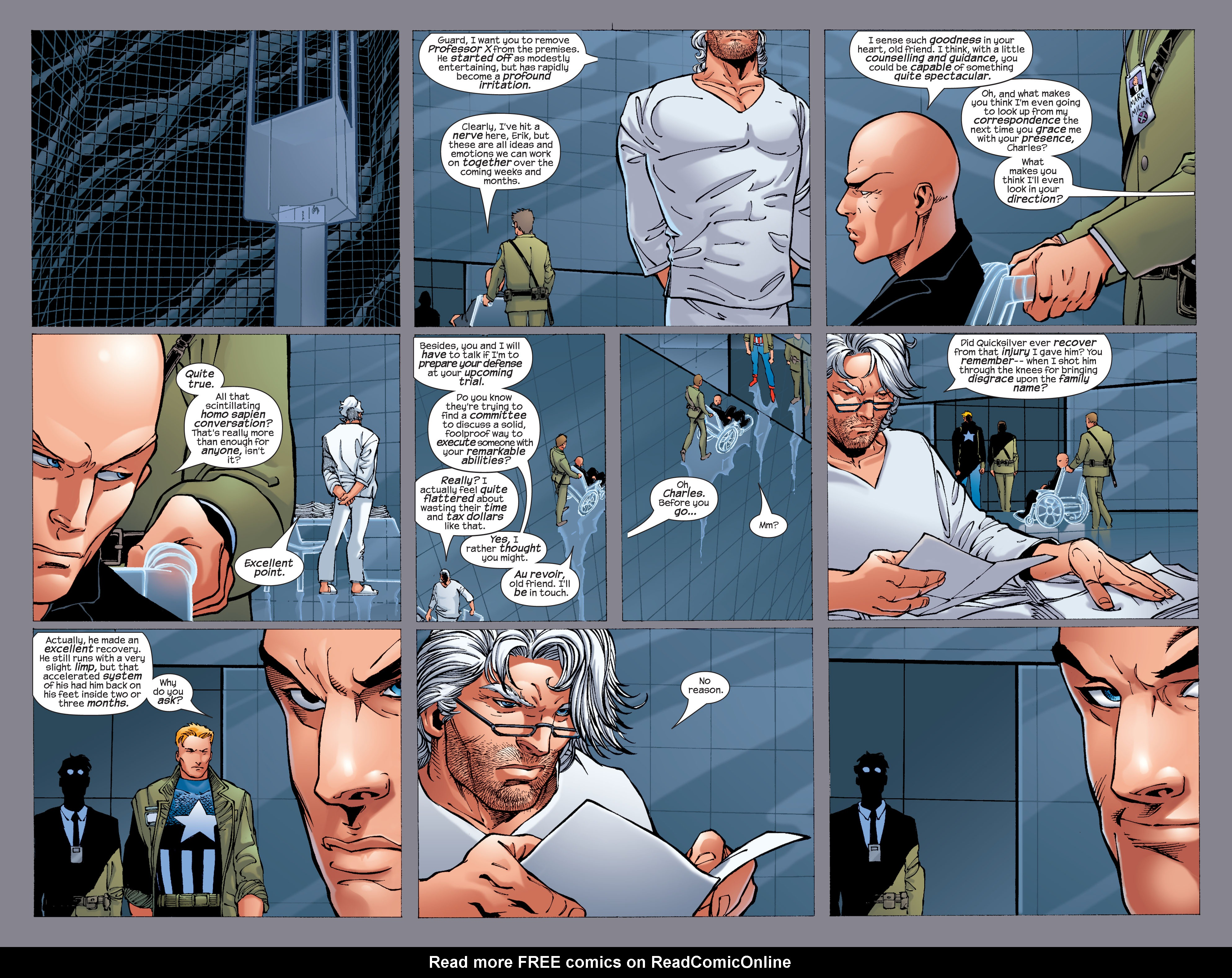 Read online Ultimate X-Men comic -  Issue #33 - 21