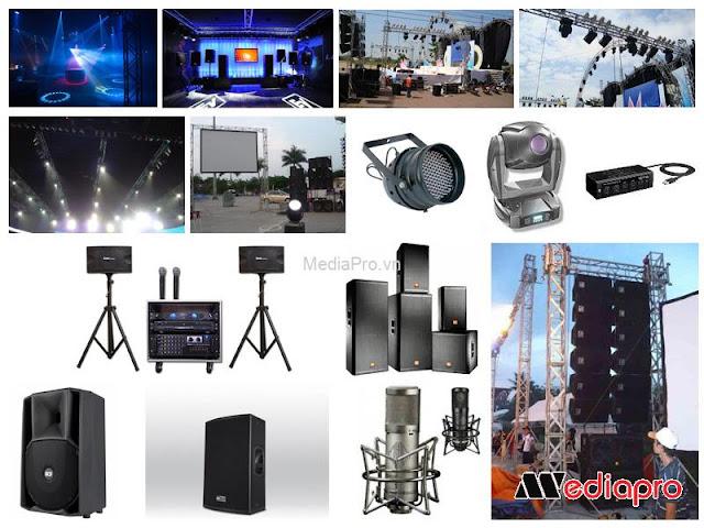 Địa chỉ uy tín cho thuê thiết bị tổ chức sự kiện Hà Nội
