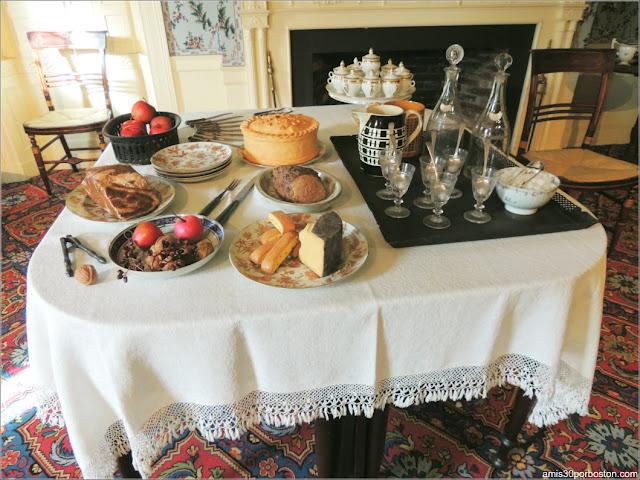 Museo Concord: Banquete Funerario de Principios del s.XIX