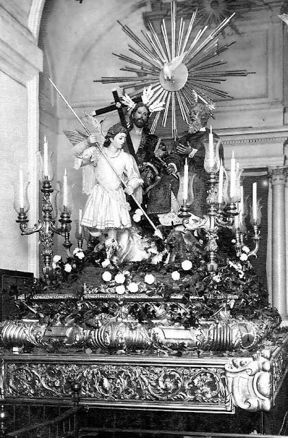 Sagrado Decreto de la Trinidad el Jueves Santo de 1924