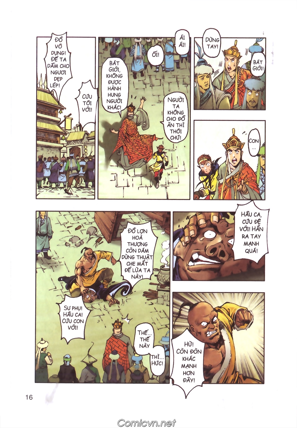 Tây Du Ký màu - Chapter 110 - Pic 14