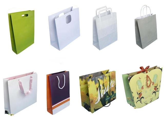 các loại hình túi giấy