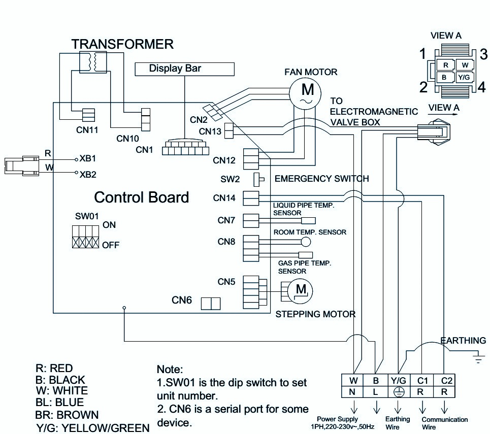 Haier Air Conditioner Wiring Diagram | Wiring Liry on