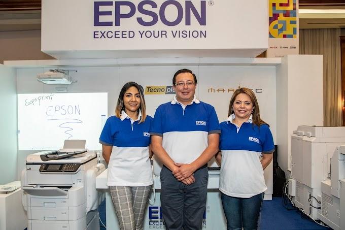 Epson presentó soluciones de impresión corporativa en EXPOPRINT