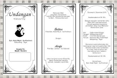 undangan walimatul ursy sultan