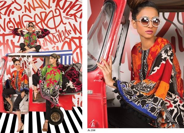 Designer Sana Safinaz Muzlin 2017