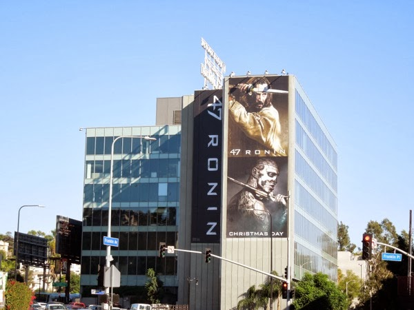 47 Ronin movie billboard