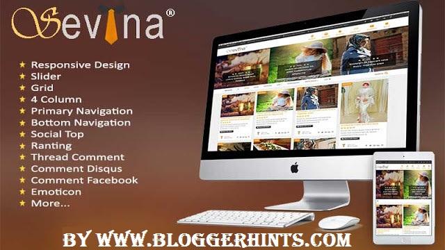 Sevina Free Blogger Theme