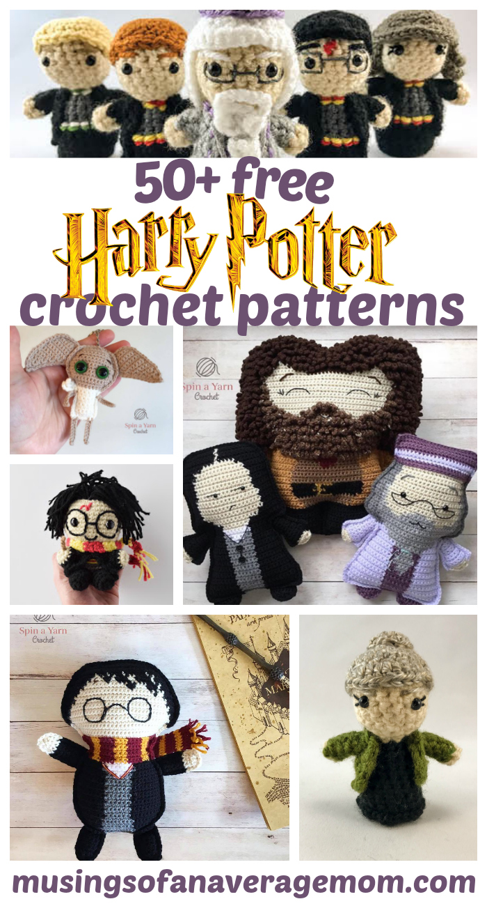 Musings of an Average Mom: Free Harry Potter crochet patterns