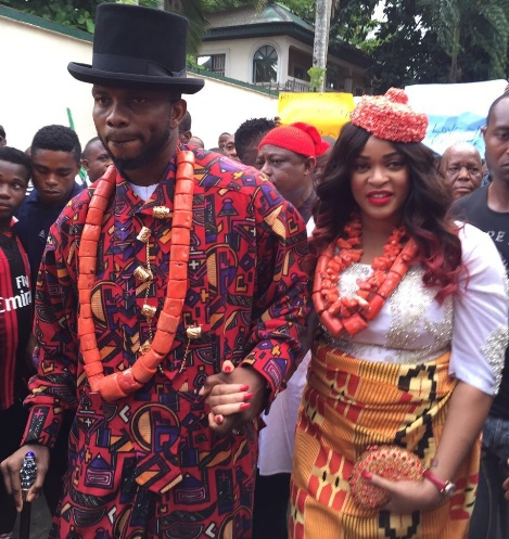 Joseph and Adaeze Yobo conferred with Chieftaincy title - The Mene Aborlo 1 and Waamene Aborlo 1 of Ogoni, Rivers State