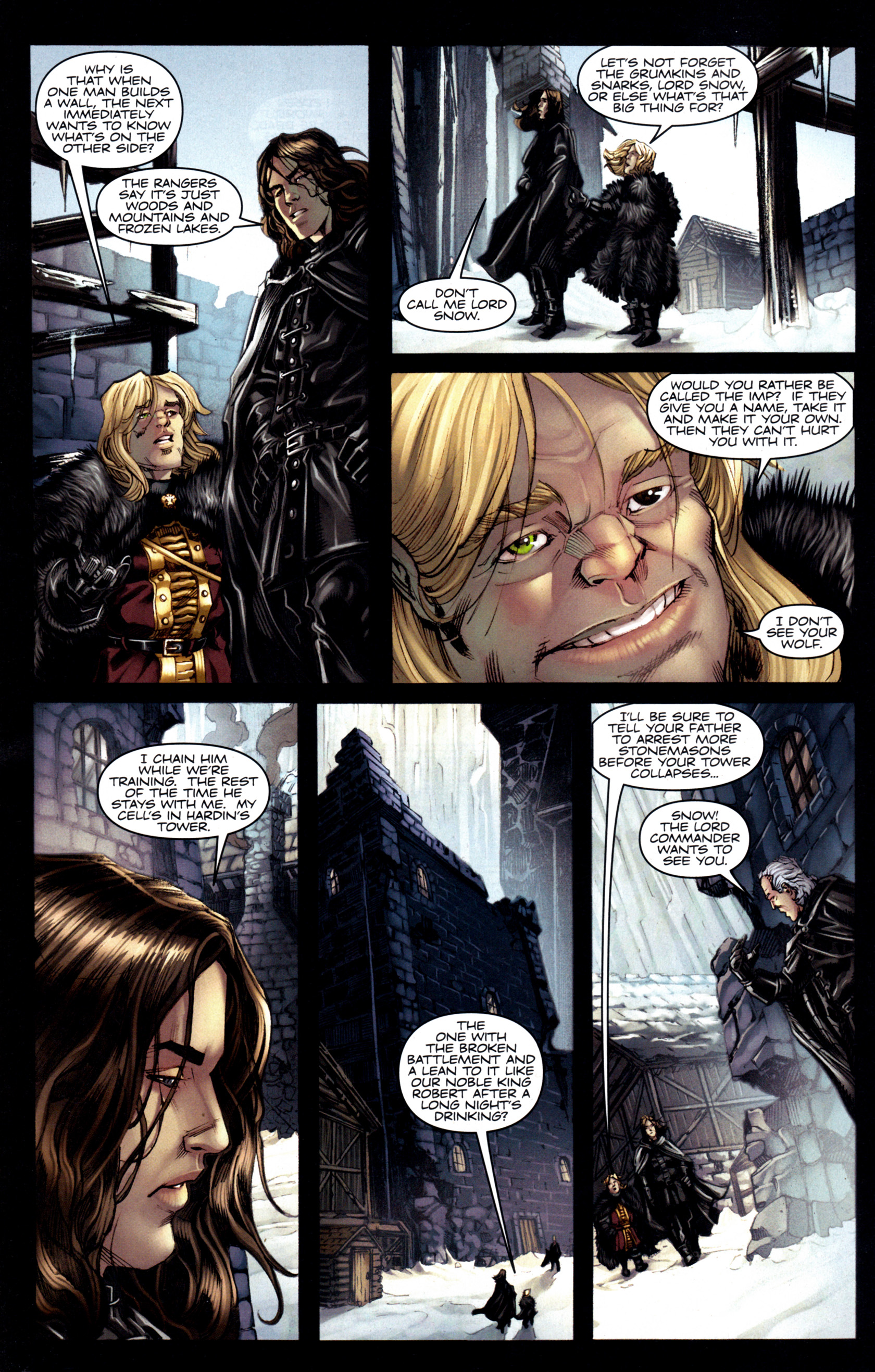 Read online A Game Of Thrones comic -  Issue #6 - 8
