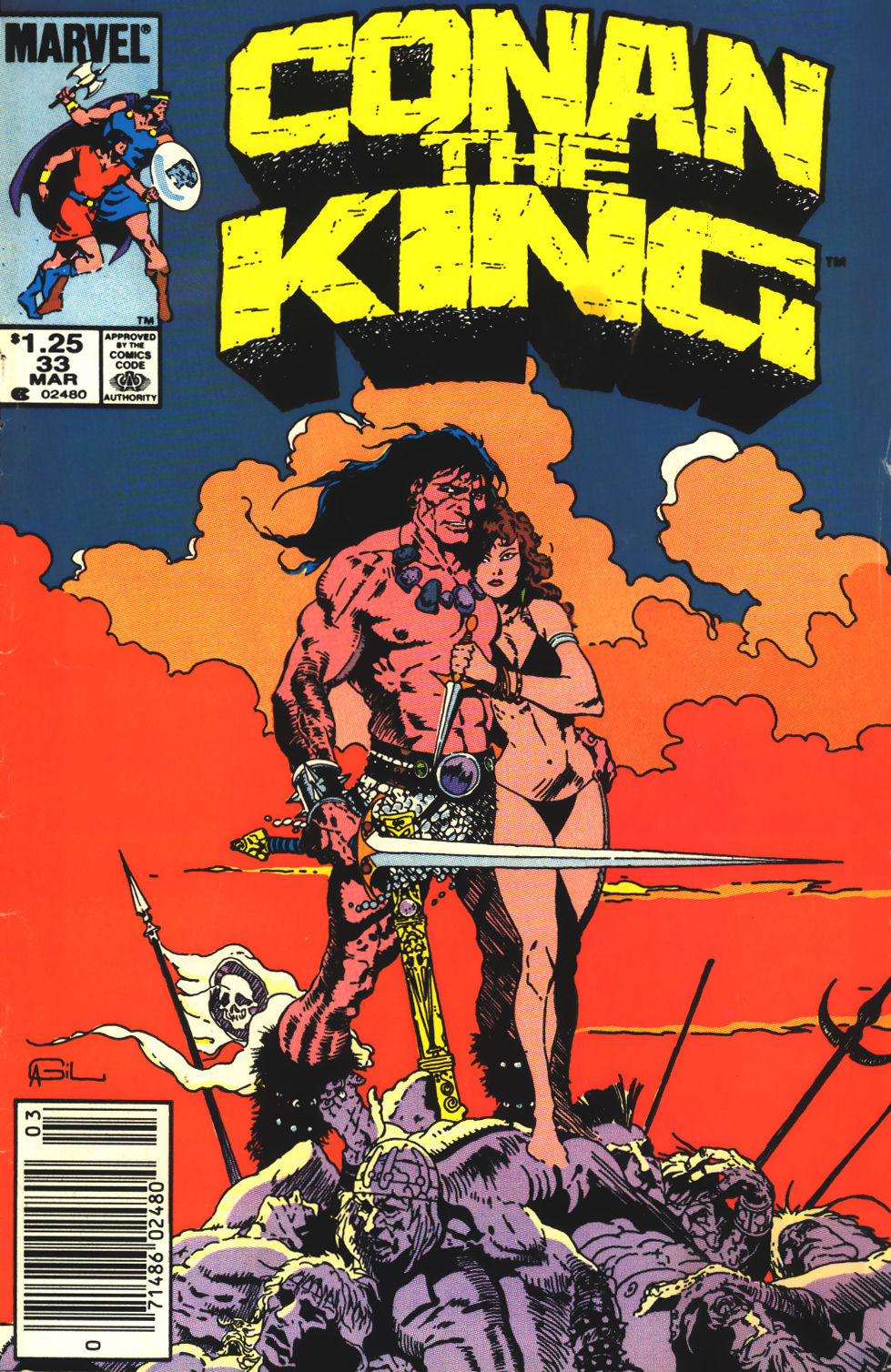 Conan the King 33 Page 1