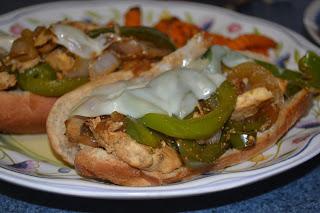 Philly Chicken Sandwiches