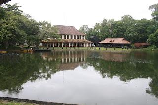 The Lake Side View of the Cottage at Taj Kumarakom