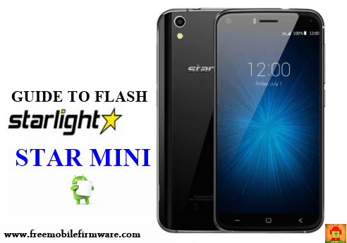 Guide To Flash Starlight Mini Marshmallow 6.0 tested firmware Using Cm2