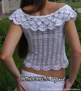 wzory szydelkowe ubran