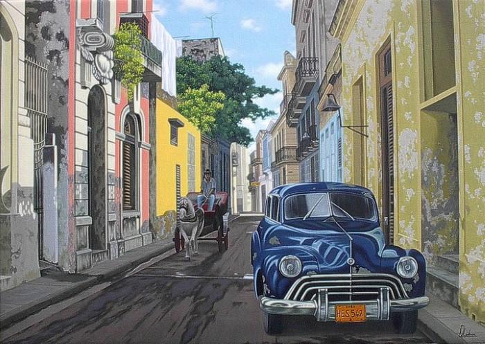 Luis Vladimir Iglesias Geraldo, кубинский художник