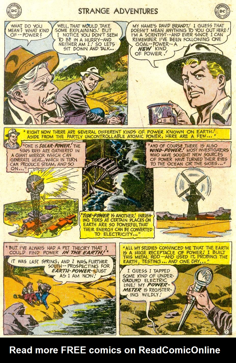 Strange Adventures (1950) issue 54 - Page 4