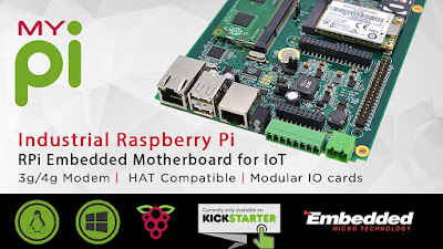 MyPi : Industrial Strength Raspberry Pi For IoT Projects