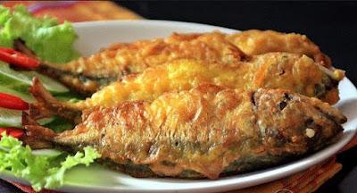 Resepi Ikan Goreng Celup Tepung