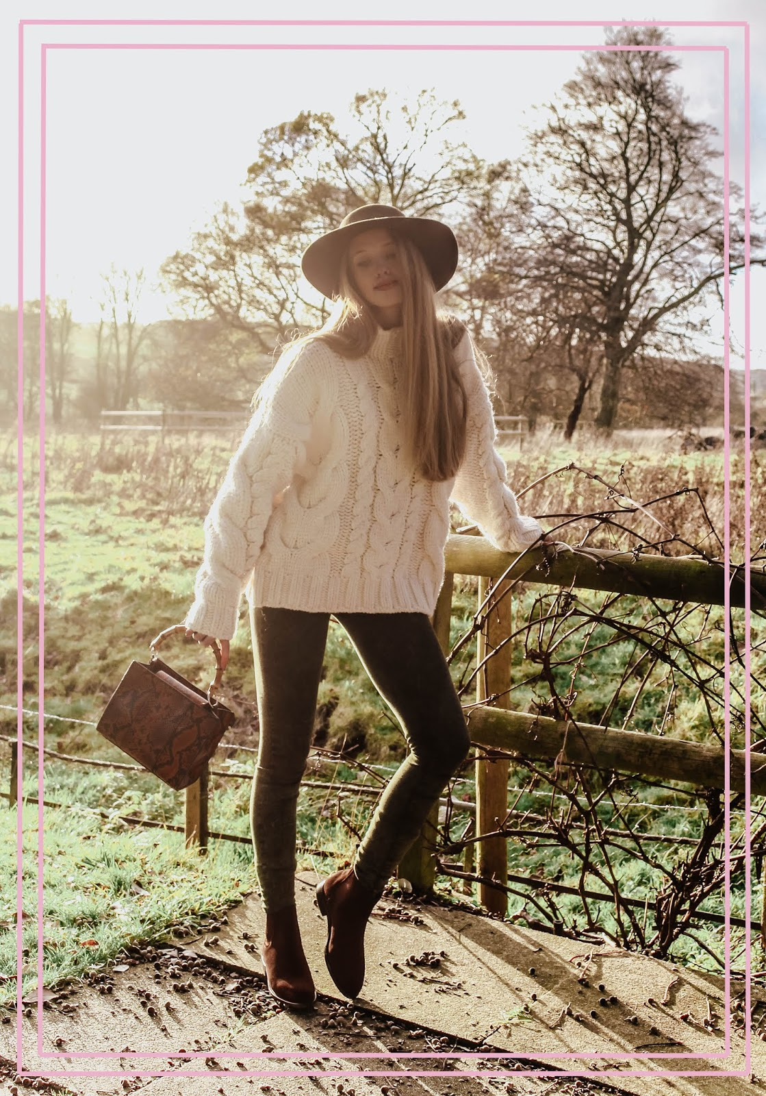 Fashion Blog Luxe Countryside Style