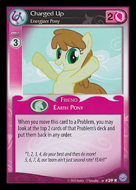 My Little Pony Charged Up, Energizer Pony Premiere CCG Card