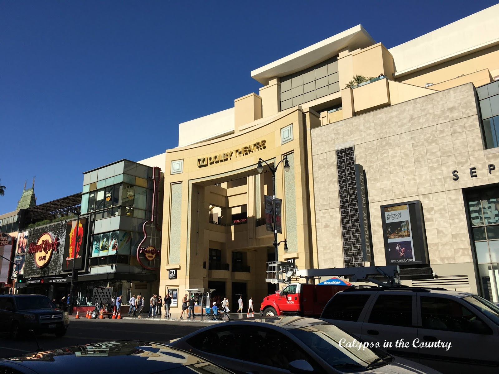 Dolby Theater in Hollywood