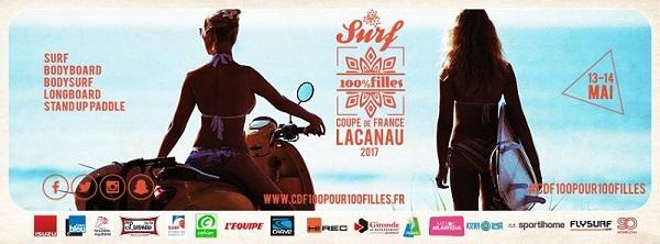 Coupe de France de Surf 100% Filles Lacanau 2017