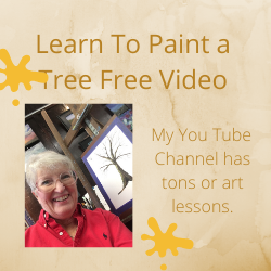 Learn to Paint A Tree