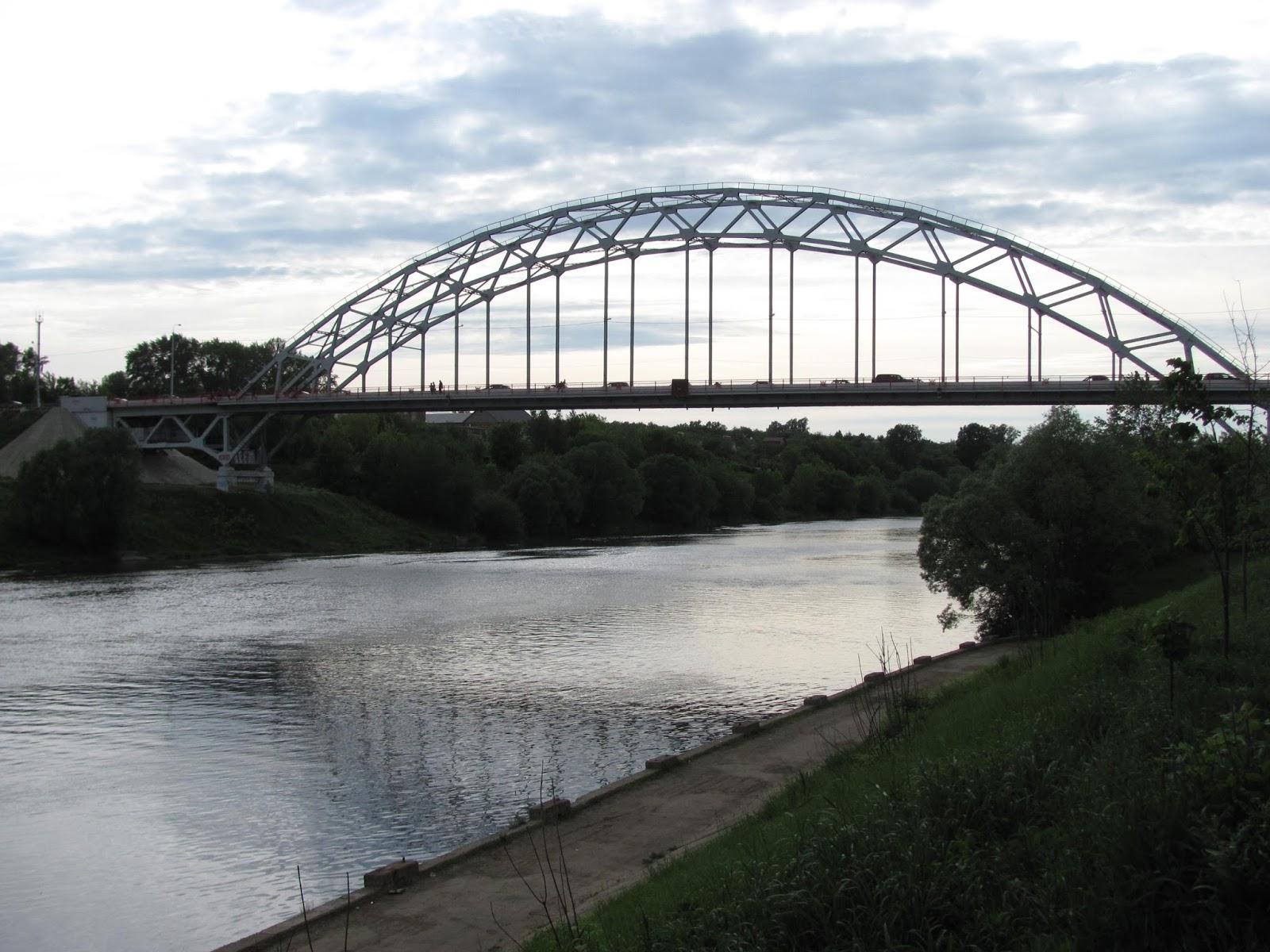 Мост через Москва-реку, Воскресенск