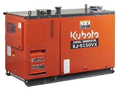 Máy phát điện Kubota 15kva KJ-S150VX