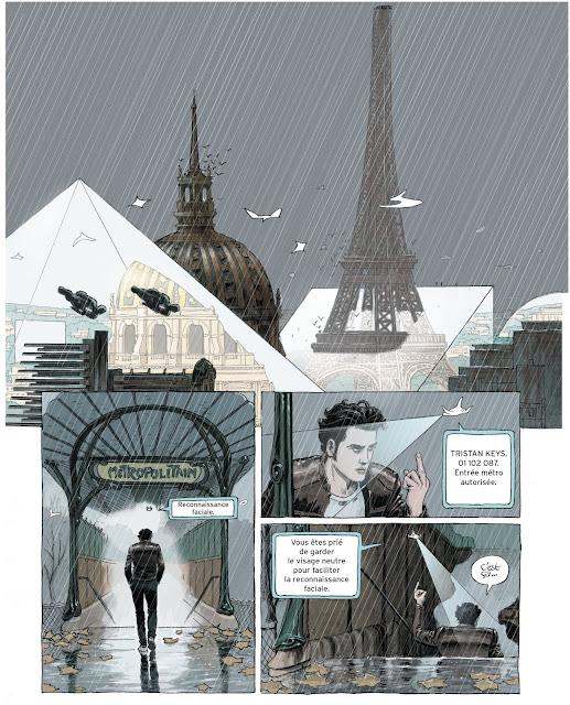 Paris 2119 de Zep et D.Bertail aux editions Rue de Sèvres page 1