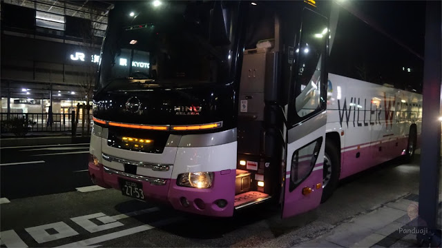 Willer Bus Tokyo - Kyoto PP
