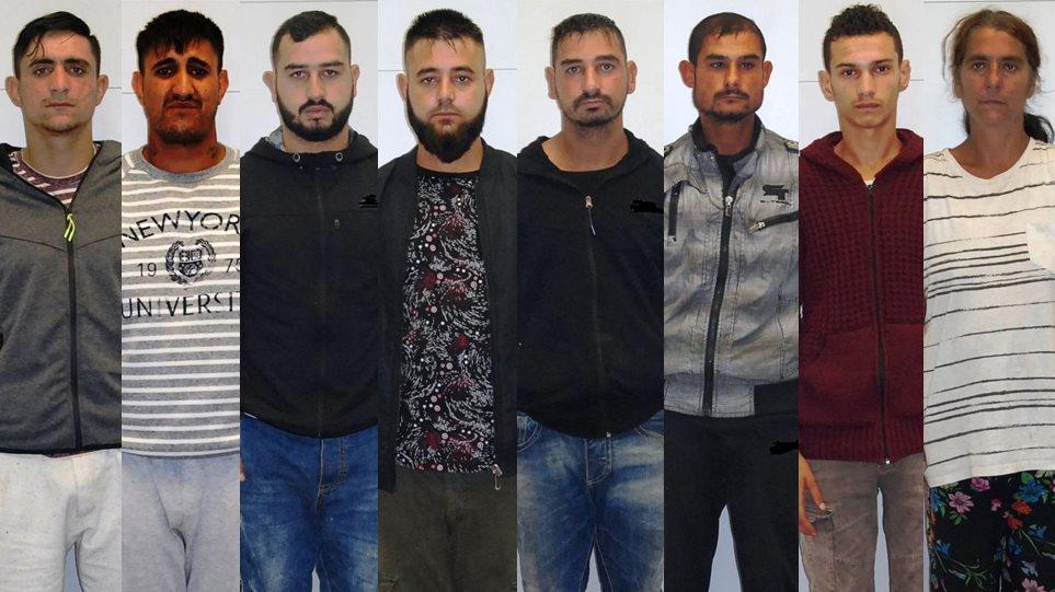 Αυτοί είναι οι 8 ληστές αραβικής ράτσας(?) (με καθαρό ελληνικό DNA σύμφωνα με δήθεν «ειδικούς»)που έκλεβαν σπίτια σε όλη την Αττική
