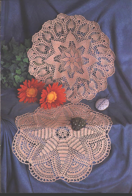 crochet d'art: napperons