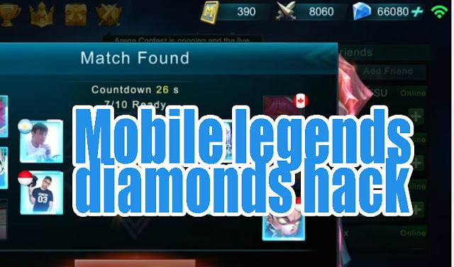 Cheat Mobile Legends Diamonds