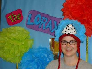 Dr. Seuss Lorax decorations for elementary classroom